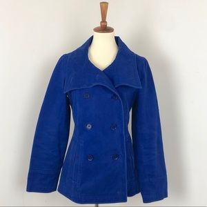 GAP | Royal Blue Double Breasted Peacoat